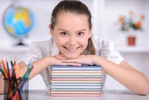 http://www.dreamstime.com/stock-images-teenager-education-portrait-teenage-girl-taught-lessons-school-image42307534